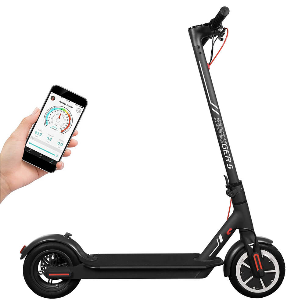 Swagtron Swagger 5 Elite Foldable Electric Scooter