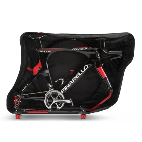 Scicon AeroComfort triathlon 3.0 open case with bike inside side view