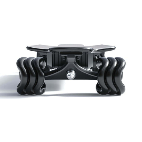 Image of Shark Wheel Shark Electric Power Skateboard black front view