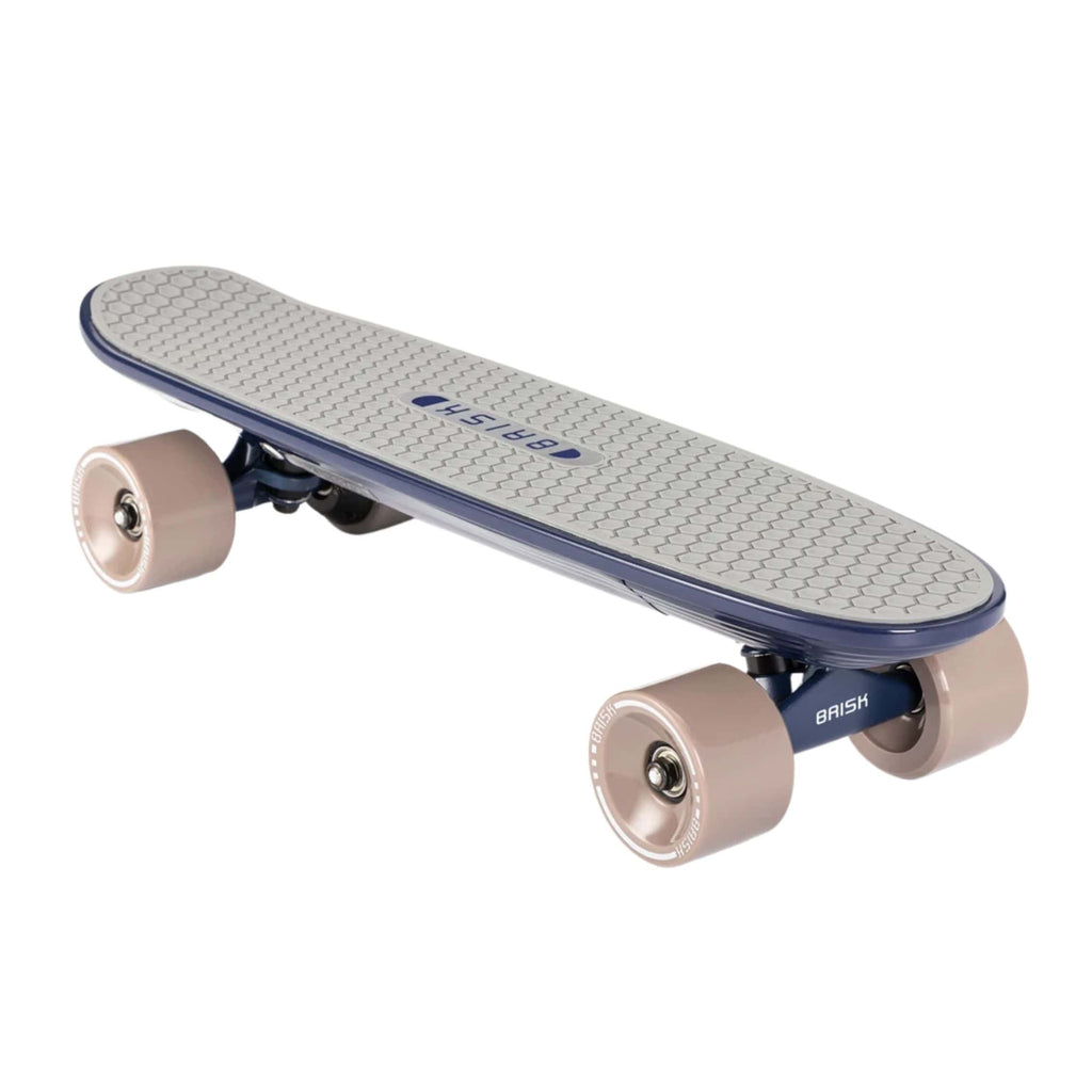 Skatebolt Brisk Electric Skateboard black front angle