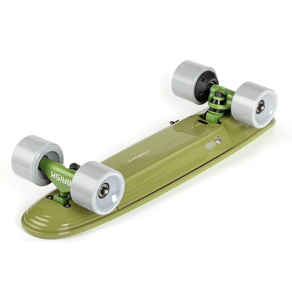 Skatebolt Brisk Electric Skateboard green bottom