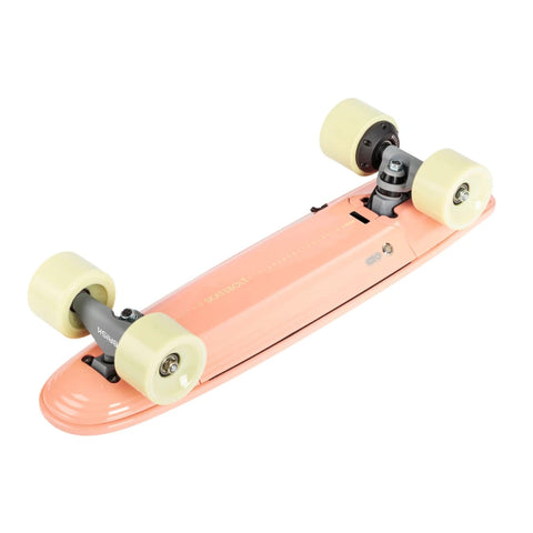 Image of Skatebolt Brisk Electric Skateboard pink bottom