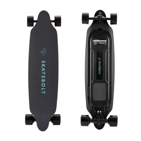 Image of Skatebolt Tornado Pro A Electric Skateboard Top and bottom view