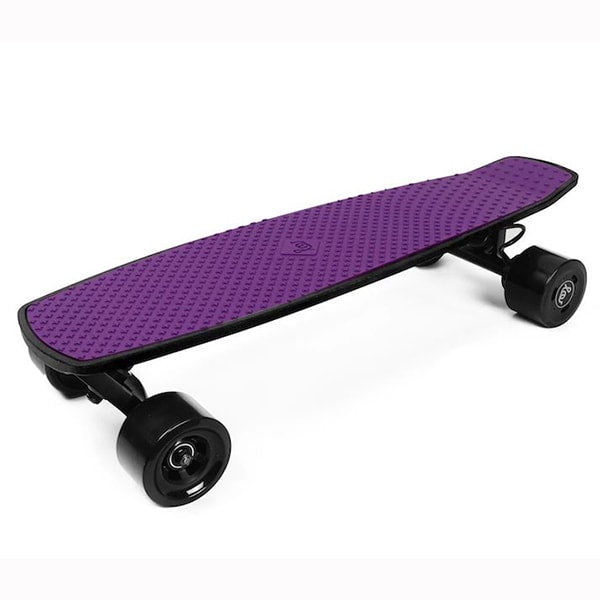 SoFlow LOU 1.0 Electric Skateboard 3D View Purple
