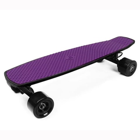 Image of SoFlow LOU 1.0 Electric Skateboard 3D View Purple
