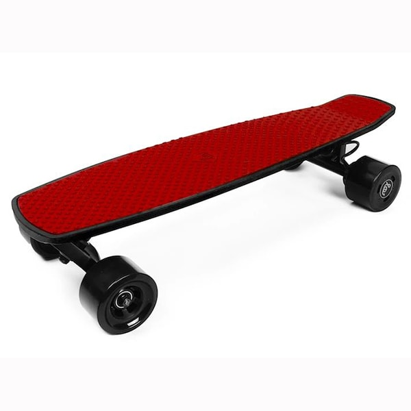 SoFlow LOU 1.0 Electric Skateboard 3D View Red