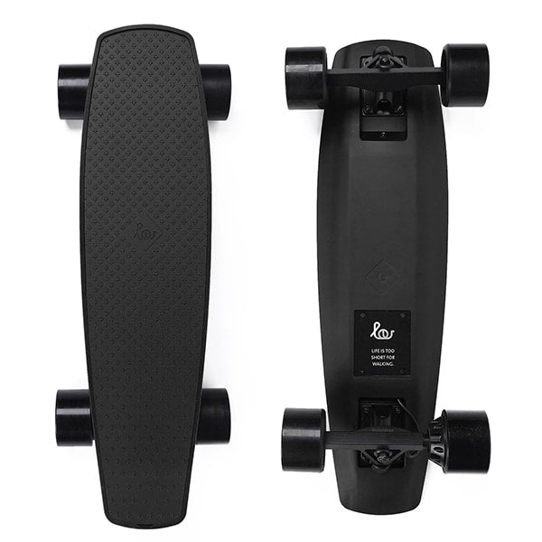 SoFlow LOU 1.0 Electric Skateboard Black Top Black Bottom