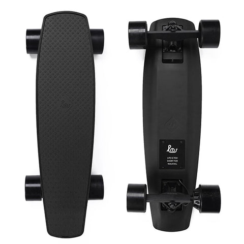 Image of SoFlow LOU 1.0 Electric Skateboard Black Top Black Bottom