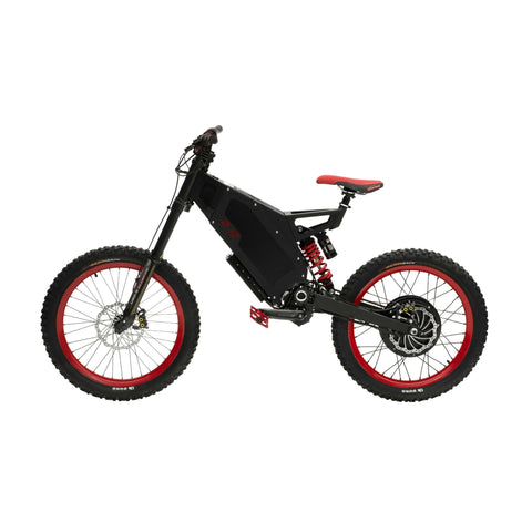 Image of Stealth B-52 Electric Bike Black Side View