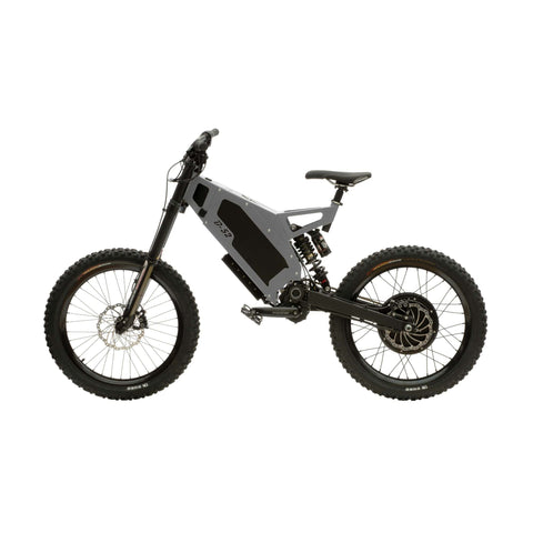 Image of Stealth B-52 Electric Bike Grey Side View