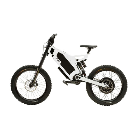 Image of Stealth B-52 Electric Bike White Side View