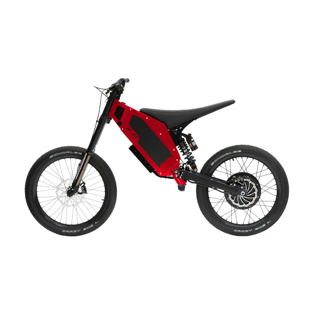 Stealth H-52 Electric Bike Red