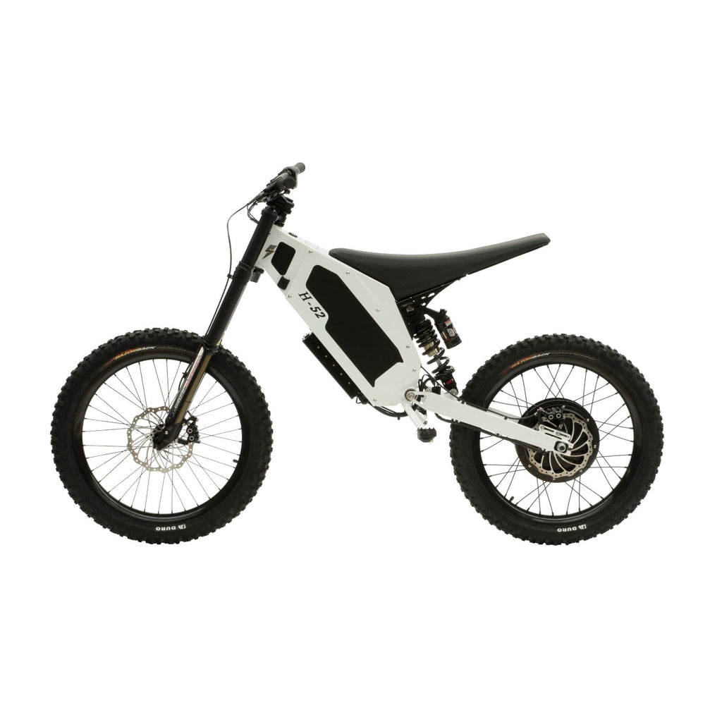 Stealth H-52 Electric Bike White