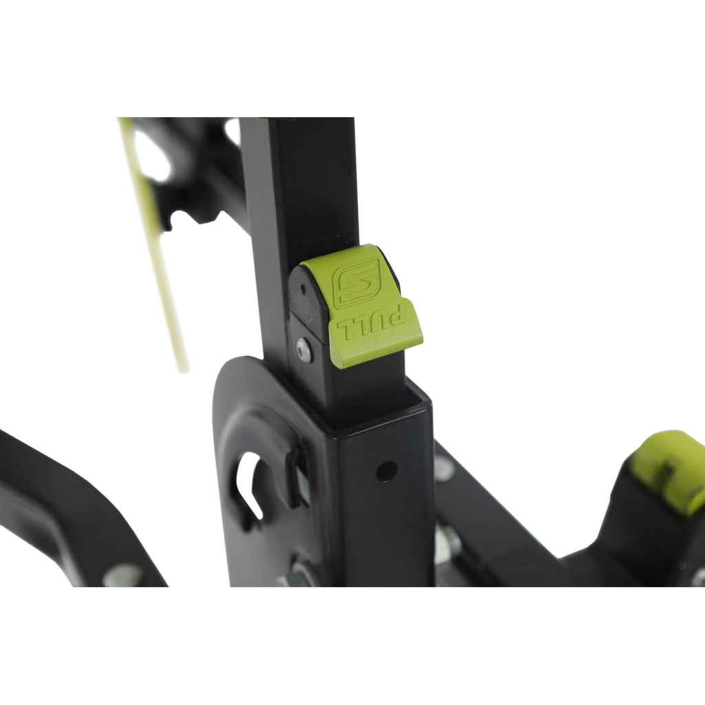 Swagman Current Hitch Mount Bike Rack pull lock lever