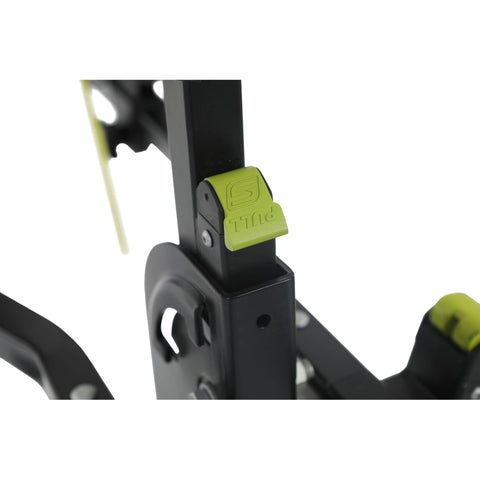 Image of Swagman Current Hitch Mount Bike Rack pull lock lever