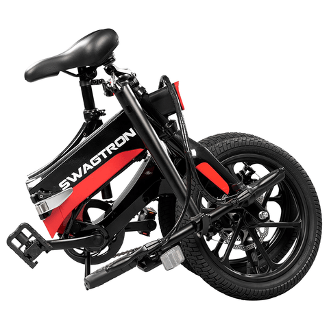Swagtron EB7 Elite Folding Electric Bike