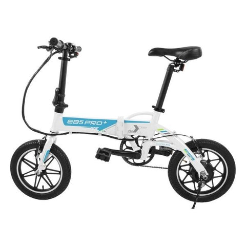 Image of Swagtron EB5 Pro Plus Folding Electric Bike white