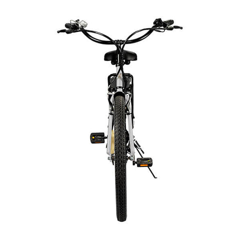 Image of Swagtron EB10 Step Through Cruiser Electric Bike Rear View