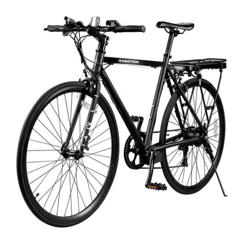 Image of Swagtron EB12 Electric Commuter City Bike front corner view