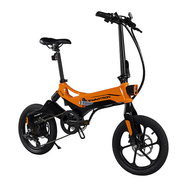 Swagtron EB7 Plus Electric Bike 3D View Facing Right