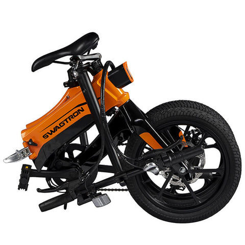 Image of Swagtron EB7 Plus Electric Bike Folded Seat