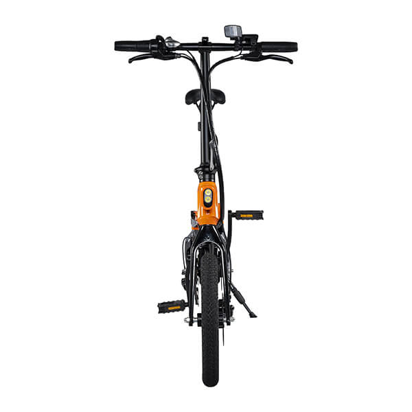 Swagtron EB7 Plus Electric Bike Rear View