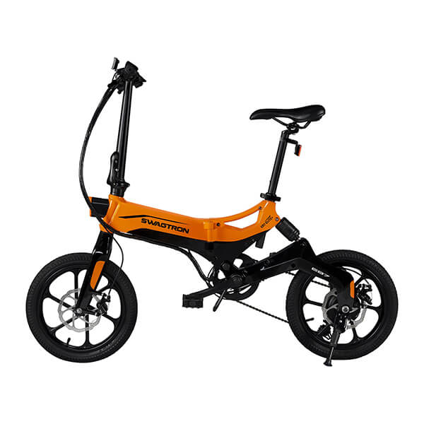 Swagtron EB7 Plus Electric Bike Side View Facing Left