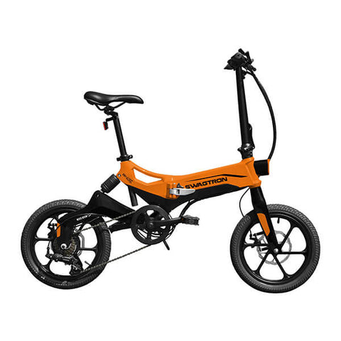 Image of Swagtron EB7 Plus Electric Bike Side View Facing Right