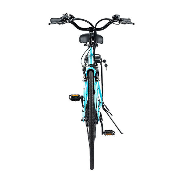 Swagtron EB9 Step-Through Electric City Bike Rear View