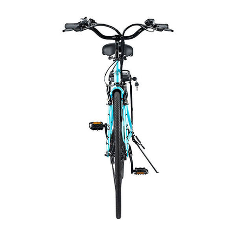 Image of Swagtron EB9 Step-Through Electric City Bike Rear View