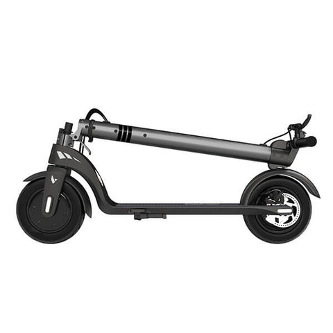 Swagtron Swagger 7 Folding Electric Kick Scooter With Removable Battery Folded