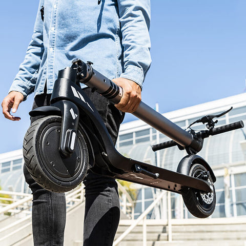 Image of Swagtron Swagger 7 Folding Electric Kick Scooter With Removable Battery Hand Carry