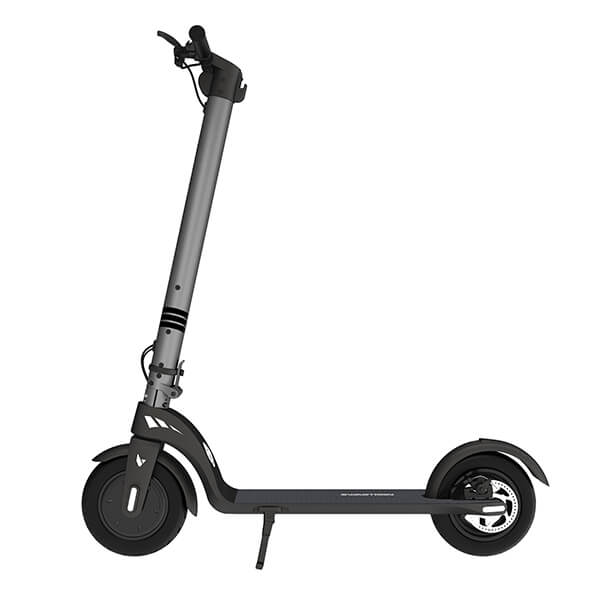Swagtron Swagger 7 Folding Electric Kick Scooter With Removable Battery Side View Facing Left