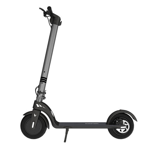 Image of Swagtron Swagger 7 Folding Electric Kick Scooter With Removable Battery Side View Facing Left