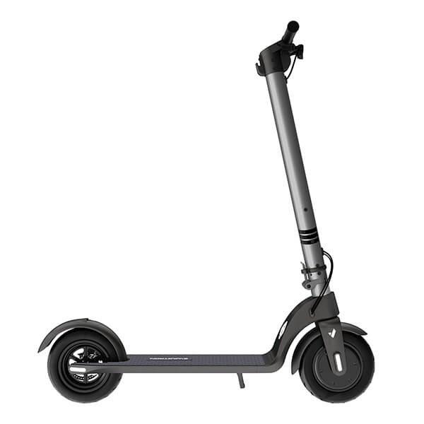 Swagtron Swagger 7 Folding Electric Kick Scooter With Removable Battery Side View Facing Right