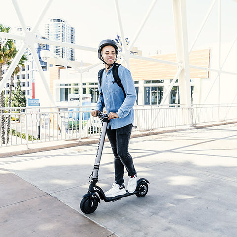 Image of Swagtron Swagger 7 Folding Electric Kick Scooter With Removable Battery Streets