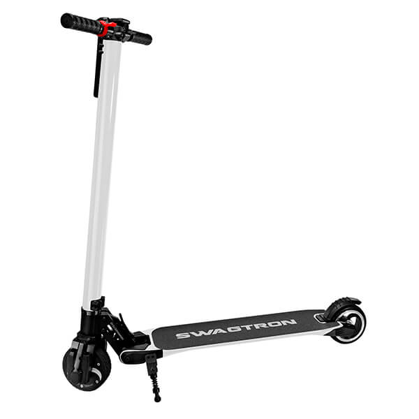 Swagtron Swagger V1 Foldable Electric Scooter White