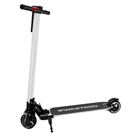 Image of Swagtron Swagger V1 Foldable Electric Scooter White