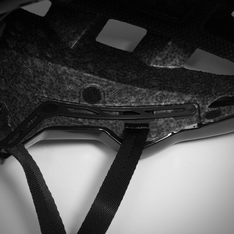 Image of TSG Scope MIPS skateboard helmet strap close up