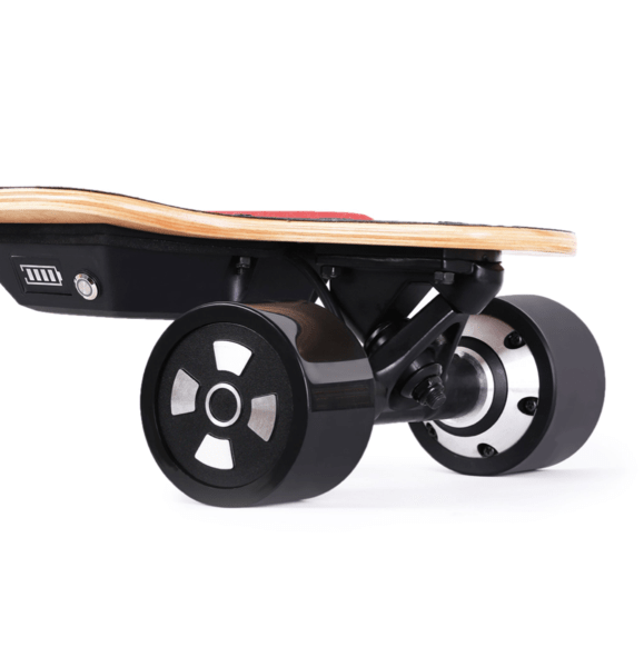 Teemo M-1 Electric Longboard Motor Close Up