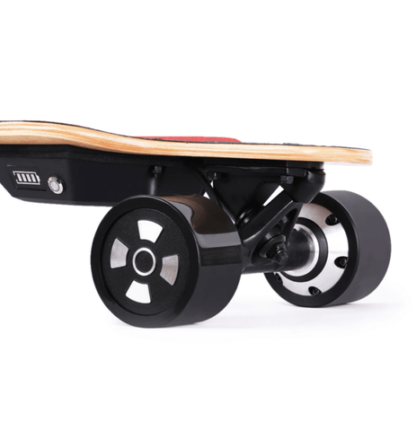 Image of Teemo M-1 Electric Longboard Motor Close Up