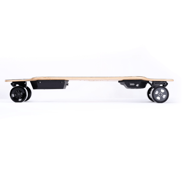 Teemo M-1 Electric Longboard Side View