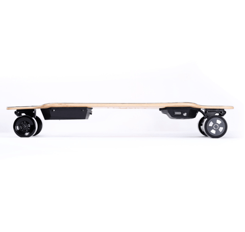 Image of Teemo M-1 Electric Longboard Side View