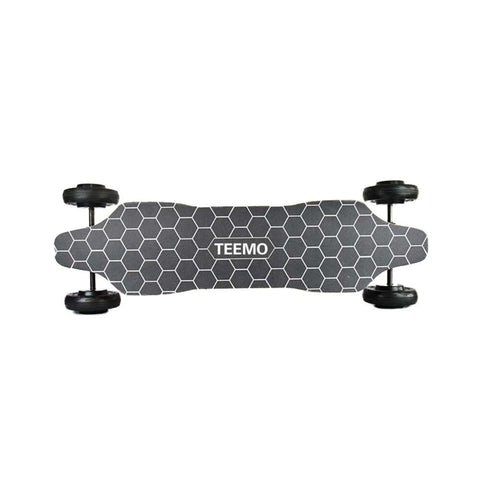 Image of Teemo Off Road Electric Longboard Top View