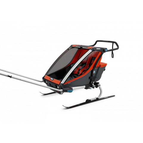 Thule Chariot Cross 2 Kids Bike Trailer ski dapter
