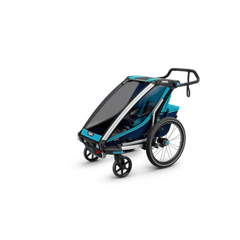 Thule Chariot Cross Kids Bike Trailer 4 wheels