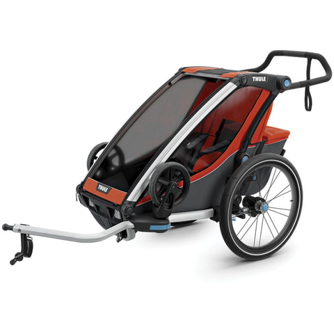 Thule Chariot Cross Kids Bike Trailer red