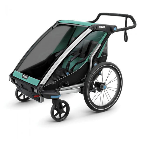 Thule Chariot Cross Lite Like Bike Trailer 4 wheel