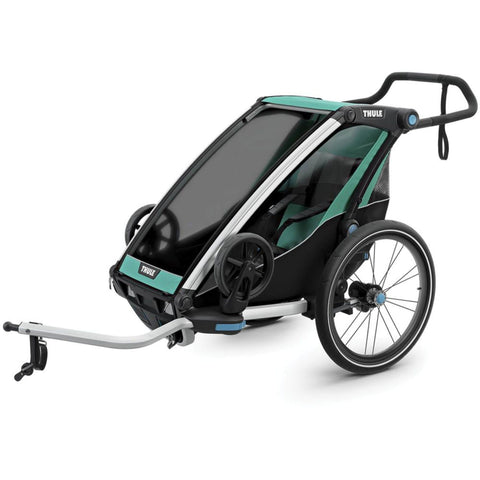 Thule Chariot Cross Lite Like Bike Trailer front view