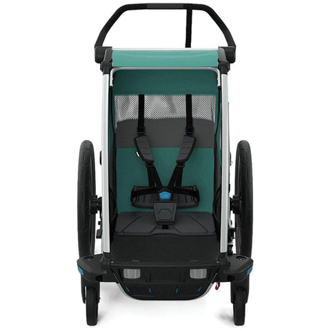Thule Chariot Cross Lite Like Bike Trailer single rear view